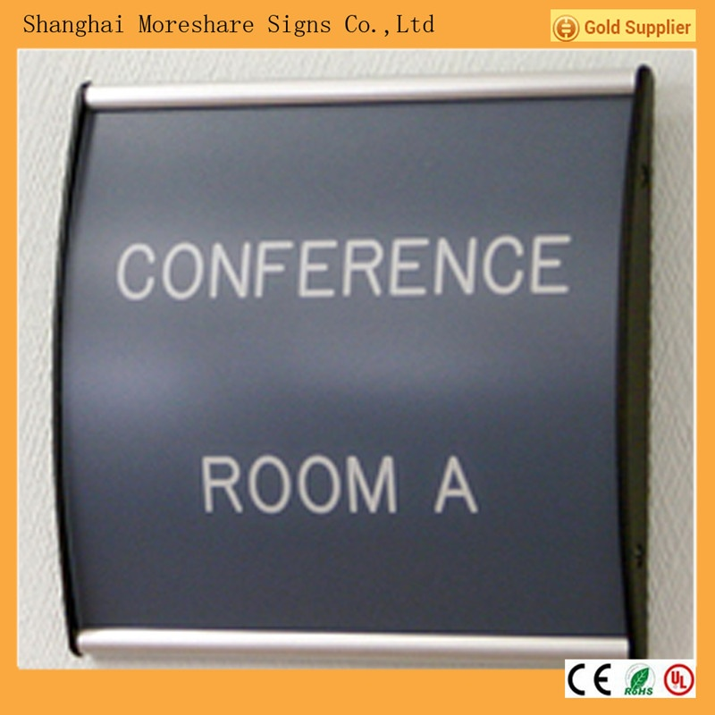 wayfinding sign, door sign, curved sign, office signs, wall sign, indoor sign, directory sign, aluminium sign, wall frames