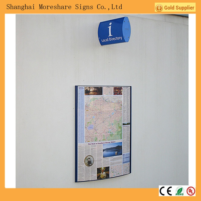 aluminum way finding signs