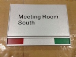 meeting room signs