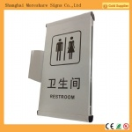 indoor aluminum wayfinding signs double sides